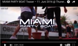 Miami Party Boat Trailer 2016